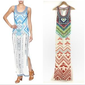 Flying Tomato Size M Aztec Printed Maxi Dress